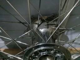 Roda traseira Yamaha DT 200R freio a disco original eninco +pneu trilha Michelin seminovo