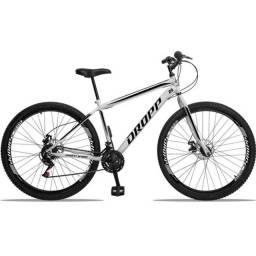 Bicicleta Aro 29 Dropp Aço 21 Marchas Freio A Disco