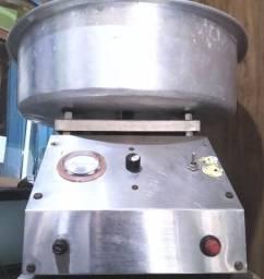 Máquina de algodão doce profissional, marca LM.