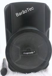 Caixa De Som Ecopower Ep-1920 Sd / Usb / Bluetooth - Novo-Promoção