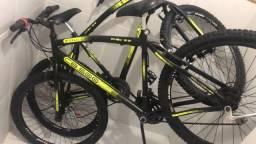 Bicicleta Aro 26 - semi nova sem marcas de uso