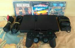 PlayStation 2 PS2 Play 2 C/ Jogos