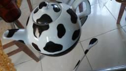 Bule decoraçao Vaquinha