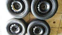 Roda aro 14 de Ferro da Fiat