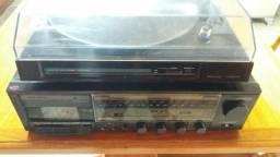 Toca Disco e Amplificador
