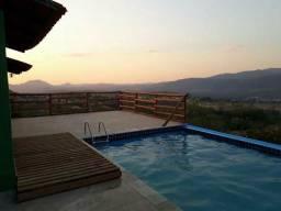Chácara radiante por do sol em Pirenópolis