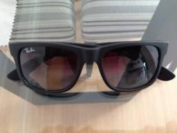 Óculos Ray Ban Justin Preto Fosco