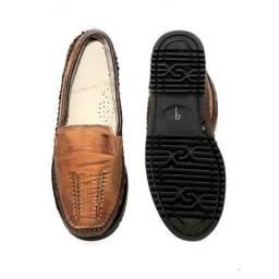 Sapato Mocassim Tradicional Masculino Couro Legítimo,super barato.