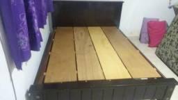 Cama de madeira super pesada