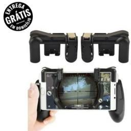 Gamepad Suporte + Gatilho L1 R1 Para Celular Universal