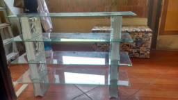 Sapateira de vidro