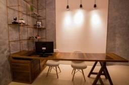 Mesa estilosa completa para escritório