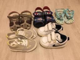 Lote calçado infantil Menino - Tam 21