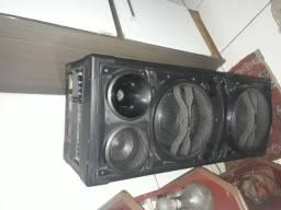 Barbada caixas de som