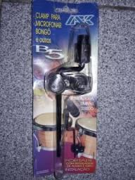 Clamp Portátil p/ Microfonar Percurssão Ask B5
