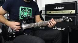 Urgente Guitarra Ltd Esp Mh50 Signature Metallica Guitarra Muito barata