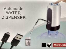 (NOVO) Bebedouro Bomba Elétrica Para Garrafão de Água mineral Recarregável