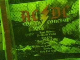 3 CDs Ao Vivo de Led Zeppelin, Deep Purple e AC/DC usados em ótimo estado