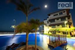 Manhattan Beach Riviera, Apartamento com 81,50m² 03 quartos, varanda gourmet, Mobiliado!!!