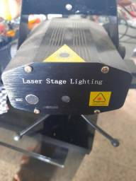 Laser stage lightung. Luz de festa. Strouble