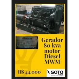 Gerador 80 kva
