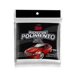 Título do anúncio: Kit C/ 10 Papel Para Polimento 3m