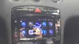 Multimídia Android Peugeot 408 e 308