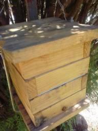 Caixa para abelhas sem ferrão Jataí mirim droryana etc