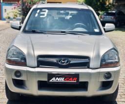 Hyundai Tucson Glsb 2.0 2013 Prata Automático Flex + Gnv