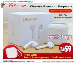 Título do anúncio: Fone I9s Tws Bluetooth iPhone Samsung Motorola Asus Xiaomi