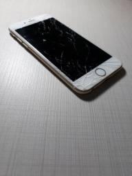 Iphone 6s 64gb dourado seminovo