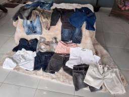 Calças Jeans e mais e Macacões