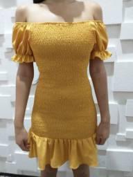 Vestido usado uma vez