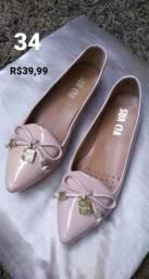 Calçados femininos número 34
