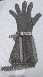 Luva de aço açougueiro manga comprida