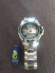 Relógio dourado original novo