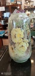 Vaso de Porcelana Pintado Antigo