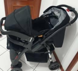 Carrinho de bebê c/ BB conforto - Andes infanti- Onyx