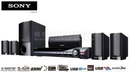 Home Theater com DVD integrado (sem fio), 5.1 Canais, 850W RMS