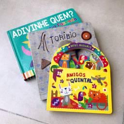 Kit com 3 Livros: tema Animais