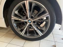 Roda BMW Série 4 R55 KRmai / Aro 18x7 / Furação 5x120 / Grafite Diamantada