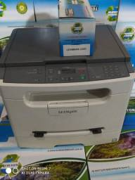 Impressora multifuncional laser marca Lexmark modelo X203 - SEMI-NOVA