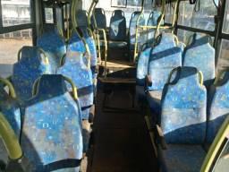 Bancada urbana para ônibus