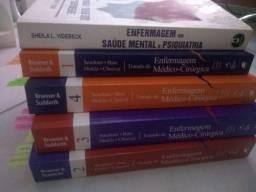 Livros Enfermagem - Brunner e Psiquiatria