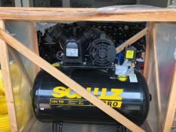 Compressor de Ar 10 Pés 100L 2HP 140PSI Monofásico - Schulz Pro CSV10/100