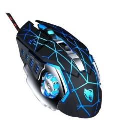 Mouse Gamer 6 Botões 3200dpi Com led Rgb Usb T-Wolf