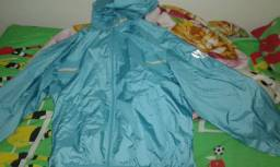 Lindo conjunto agasalho Mizuno importado verde reluzente material tecido diferenciado