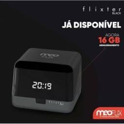 Meoflix black. 16 gbReceptor Super TV. Todos canais. Sem mensalidade