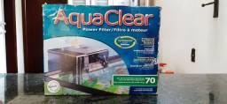 Filtro Aqua Clear 70, aquário até 260L