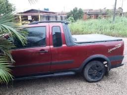 Vende-se Fiat Strada 1.8 2007 - Quitada - fone: *RO